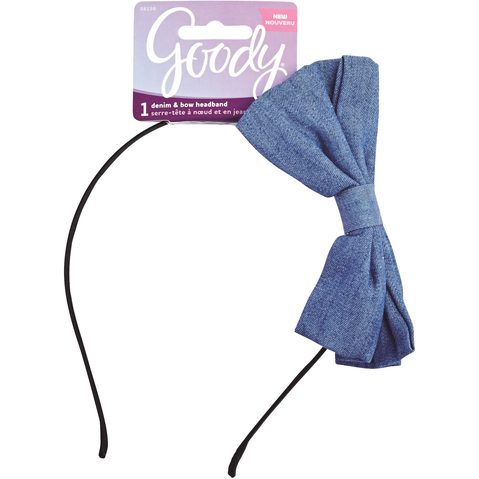 Goody Denim & Bow Headband