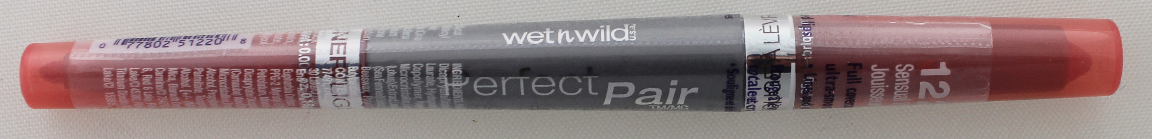 Wet N Wild Perfect Pair Lip Wand - Sensual Peach