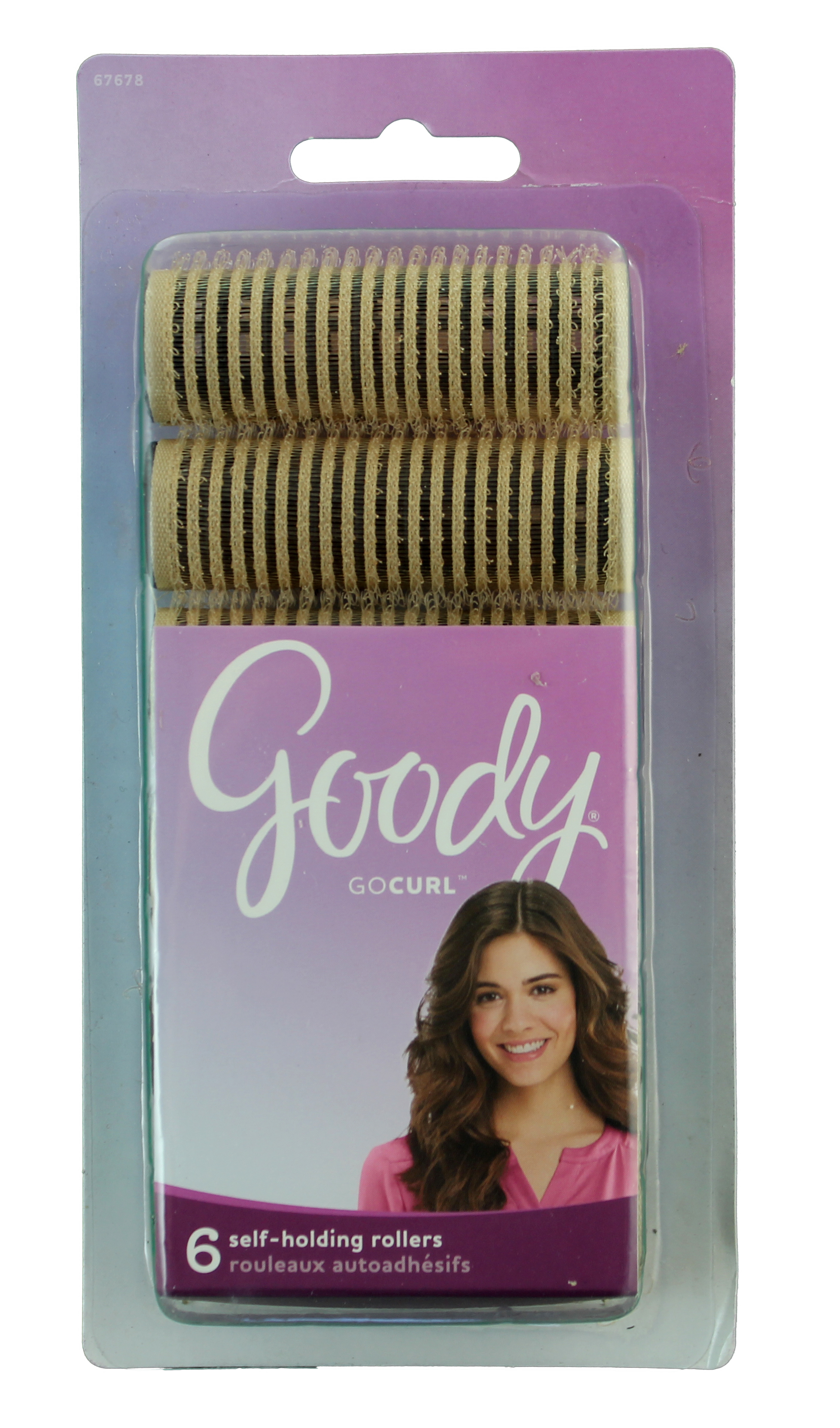 Goody Small Self Holding Bouffant Rollers, 6 CT
