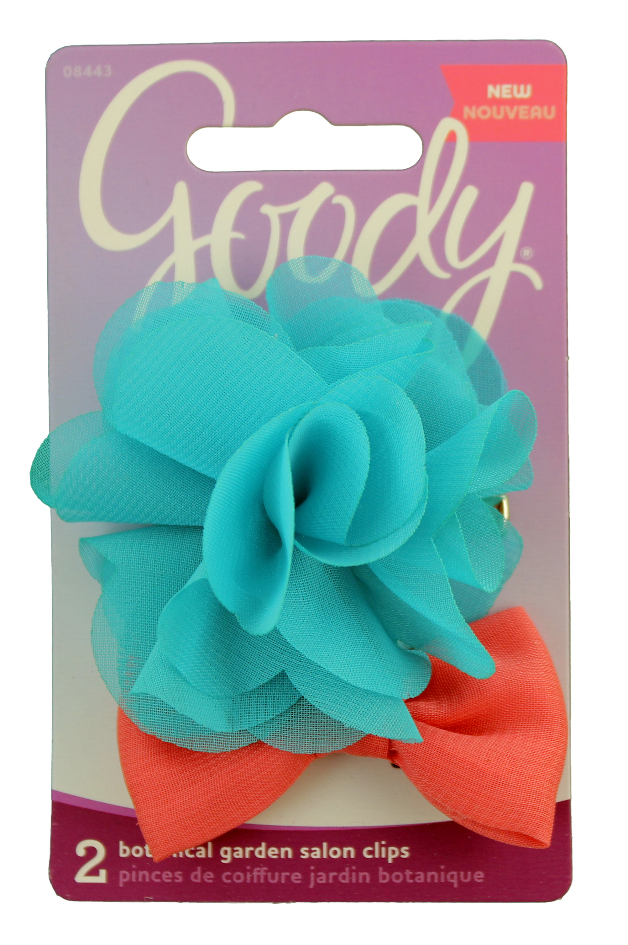 Goody Botanical Flower Bow Salon Clip