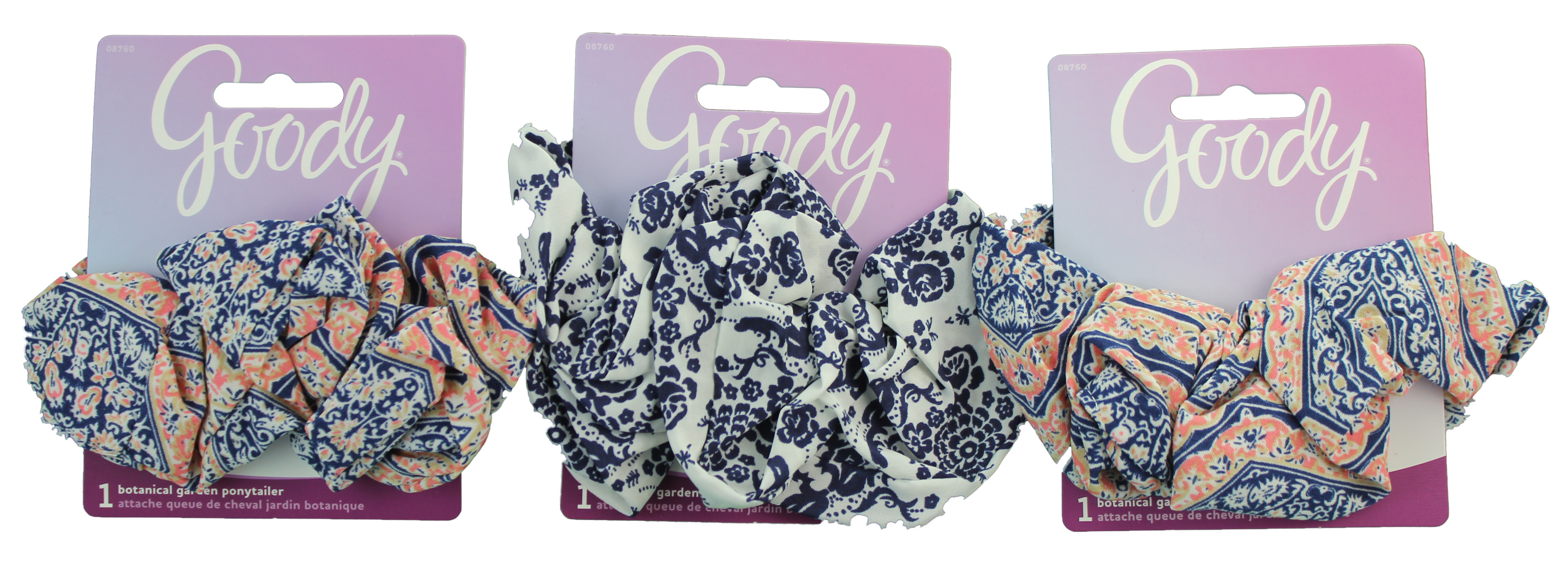 Goody Corporate Leisure Club Printed Ponytailer Scrunchy, 1 CT