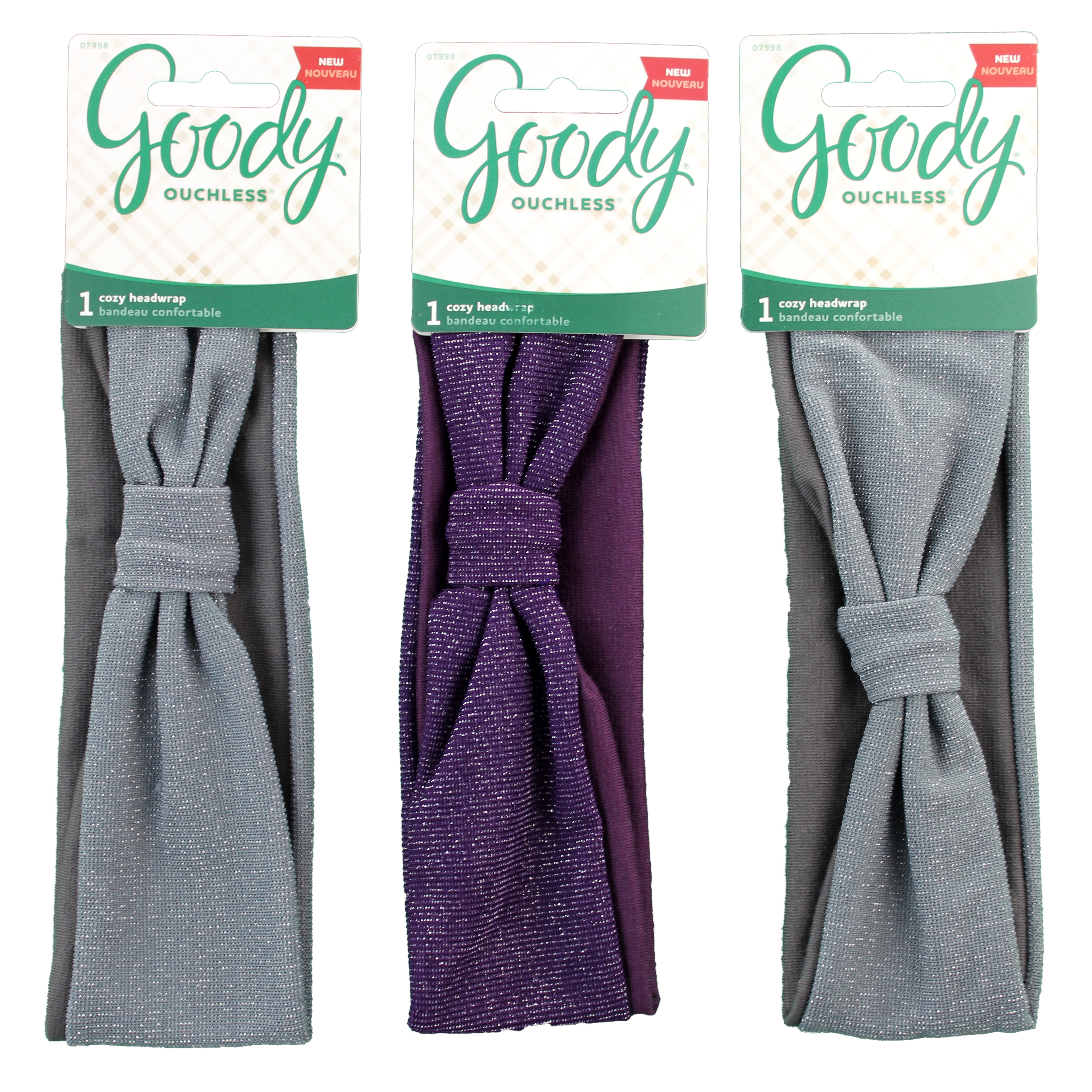 Goody Ouchless Headwrap Cozy Cabin, 1 CT