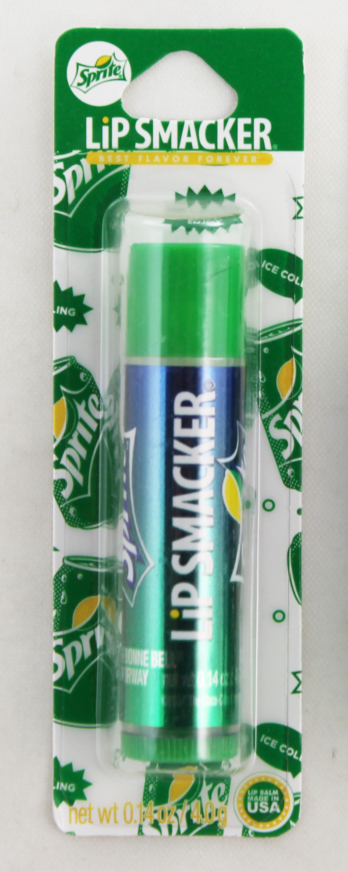 Lip Smackers by Bonne Bell Sprite Flavored Lip Balm Chap Stick. All Carded