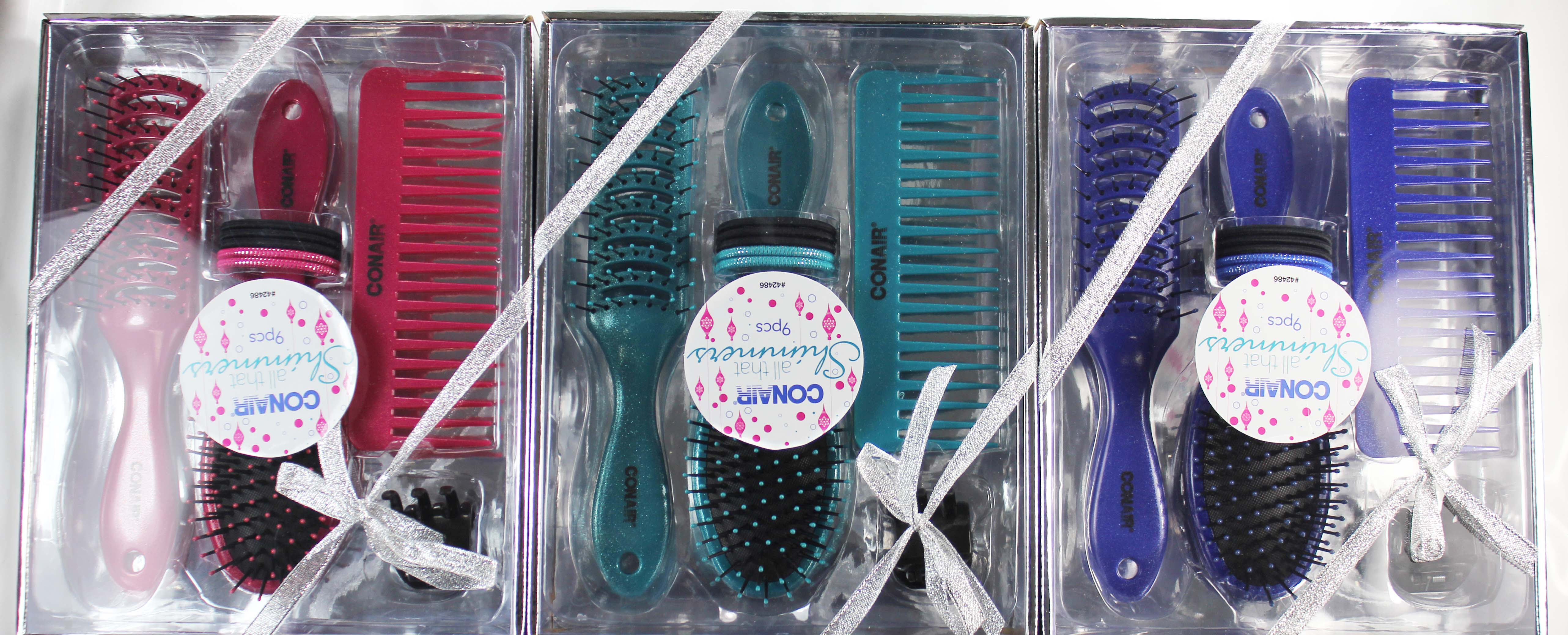 Conair Shimmers 9 piece gift set