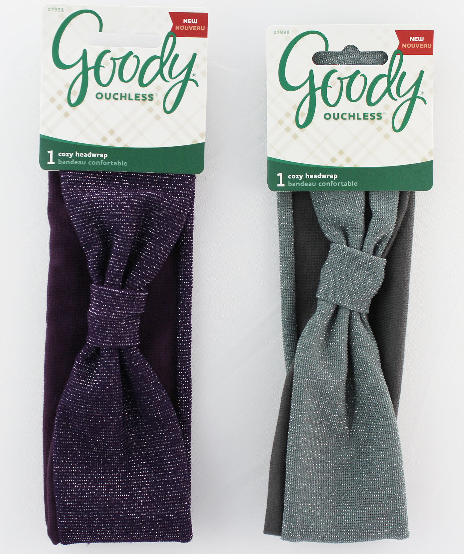Goody Ouchless Soft Cozy Headwrap, Assorted Color 1963622 07998