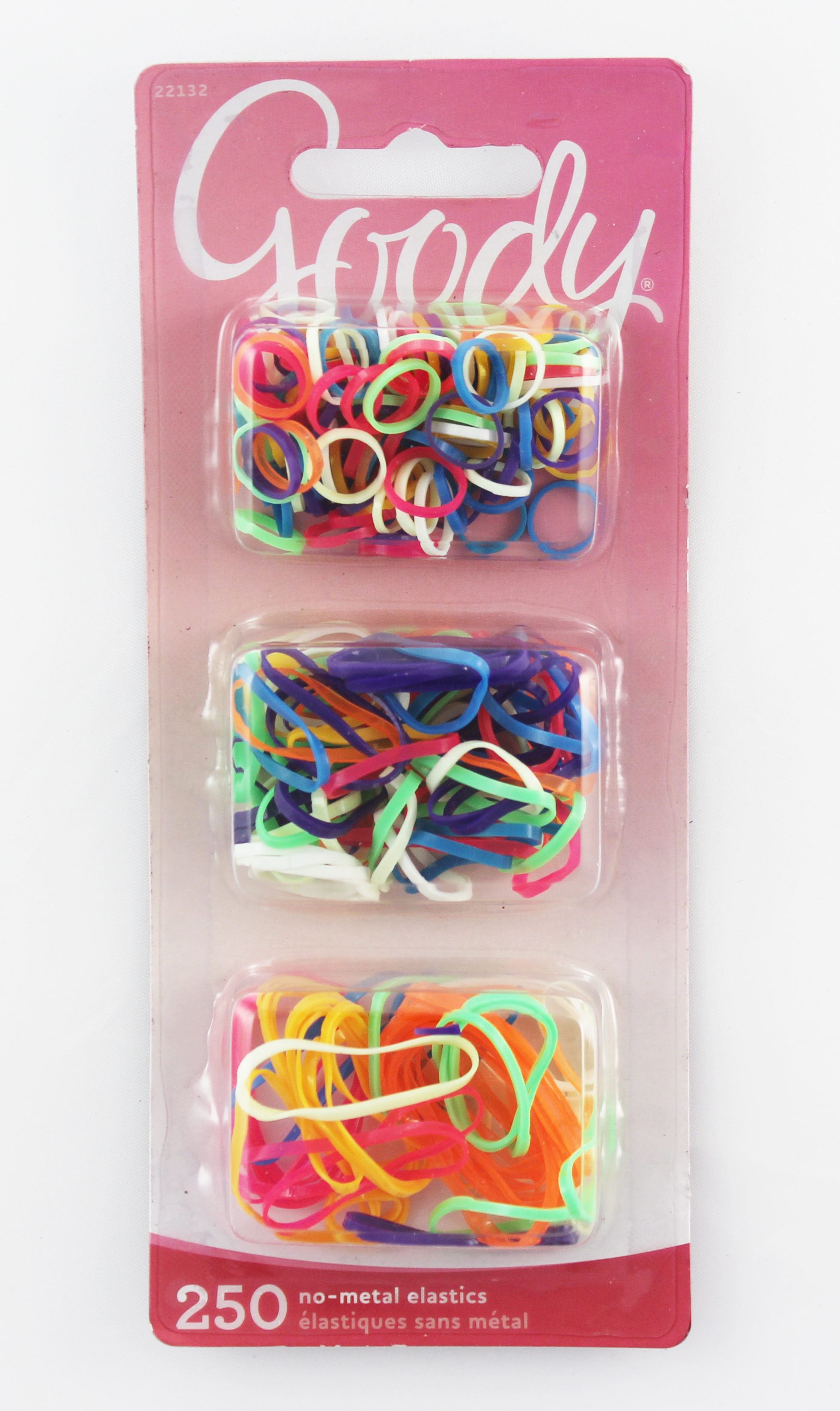 Goody Girls Bright And Bold Elastics 250 Count 1946071 22132